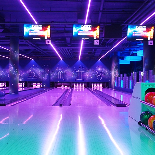 Entertainment Center Ost Bowling Aktion