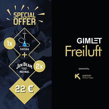 Entertainment Center Ost Gimlet Freiluft